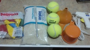 1_Supplies to make juggling balls